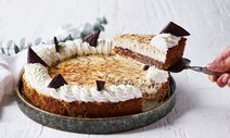 Bagt pebermynte cheesecake med After Eight®