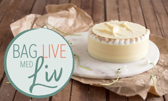 citronfromage cheesecake   bag live med liv martine