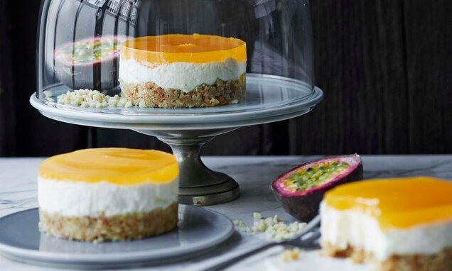 Passion cheesecakes