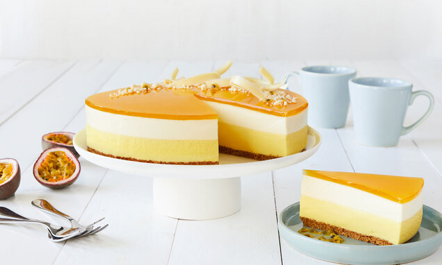 passionsfrugt cheesecake