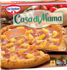 Casa di Mama Pizza Hawaii