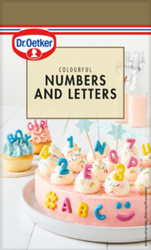 Colourful Numbers and Letters