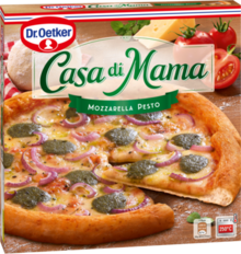 Casa di Mama Pizza Mozzarella Pesto