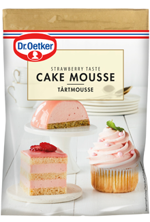 Dr. Oetker Cake Mousse Strawberry taste