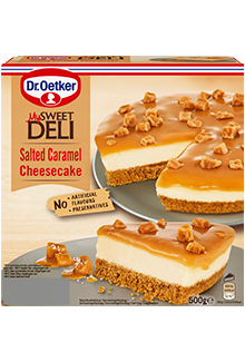 My Sweet Deli Cheesecake Salted Caramel